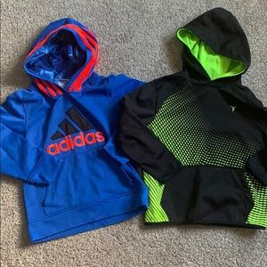 Boys Size 6 hooded sweatshirts